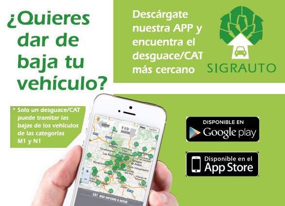 Aplicación para móviles SIGRAUTO