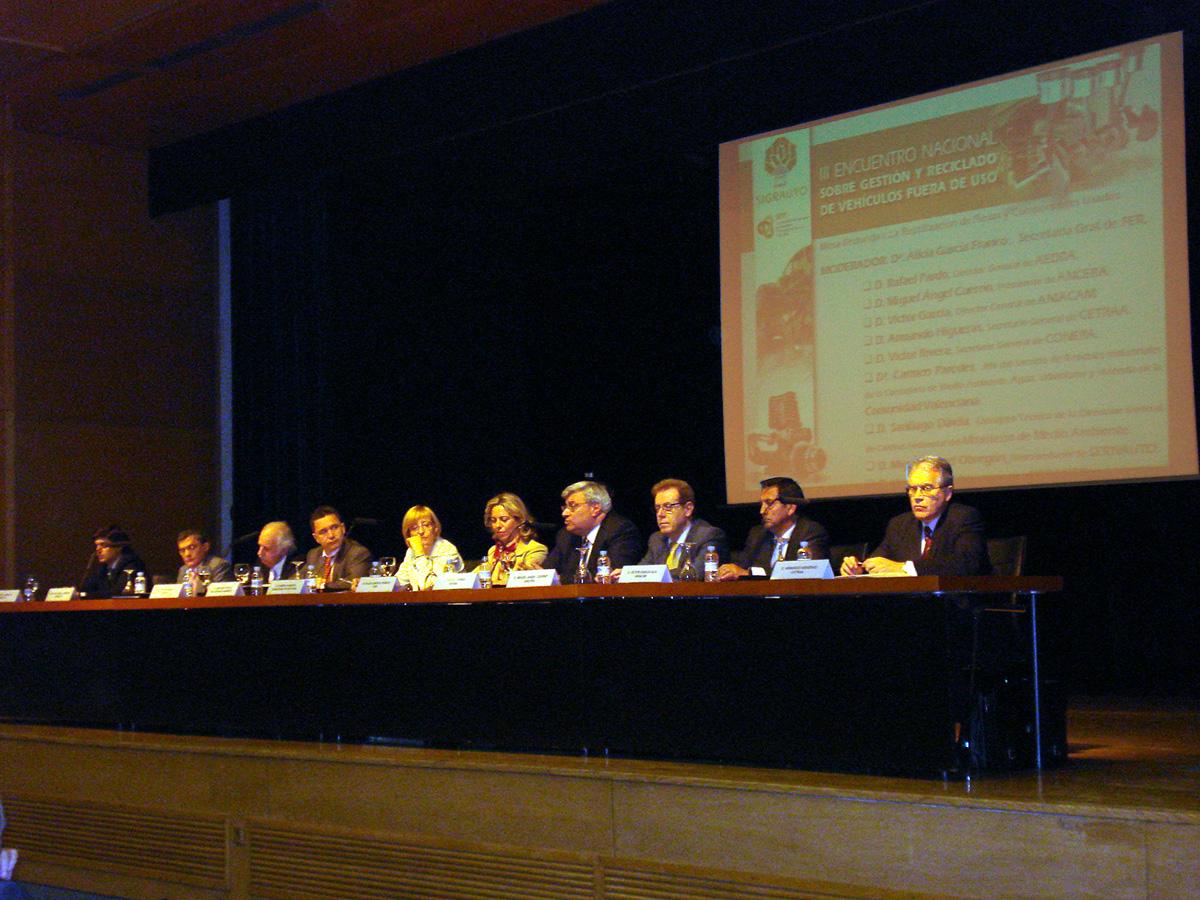 Primera Mesa Redonda III Encuentro Nacional SIGRAUTO