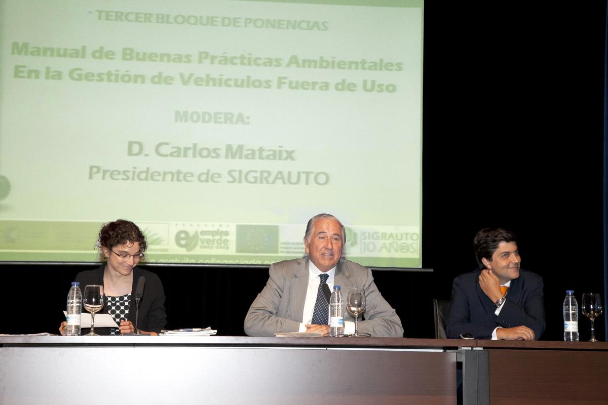 3er Bloque ponencias V Encuentro SIGRAUTO