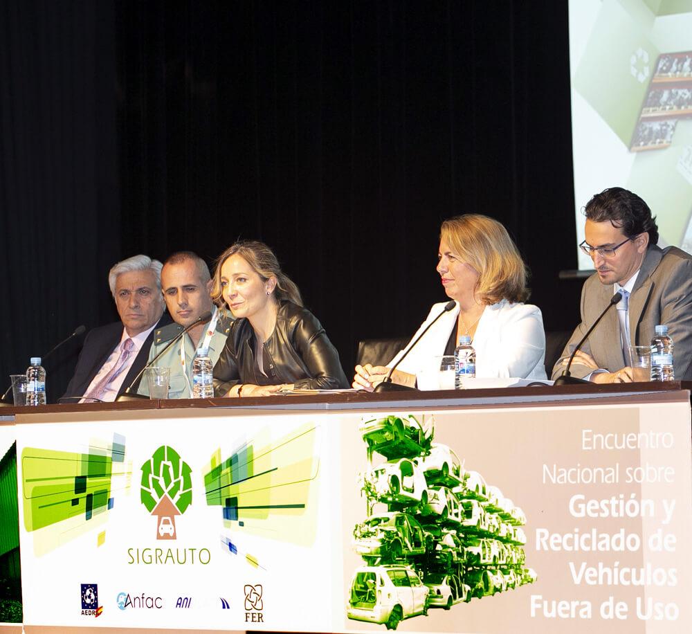 Bloque de ponencias VIII Encuentro SIGRAUTO