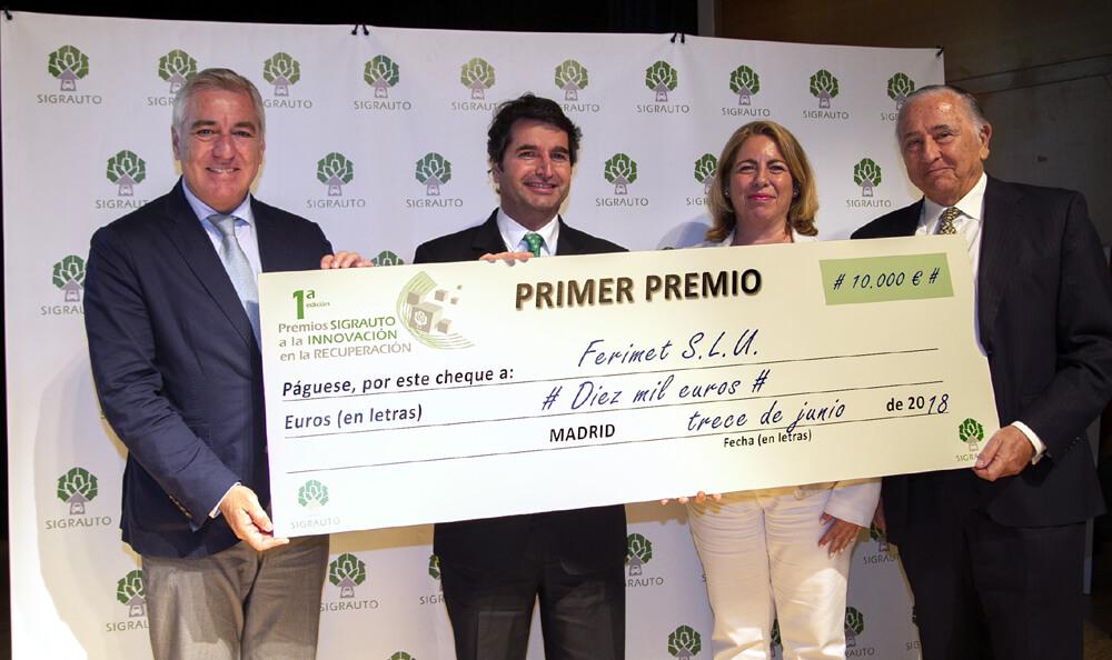 1er Premio Innovación SIGRAUTO