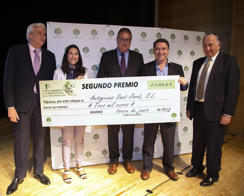2º Premio Innovación SIGRAUTO
