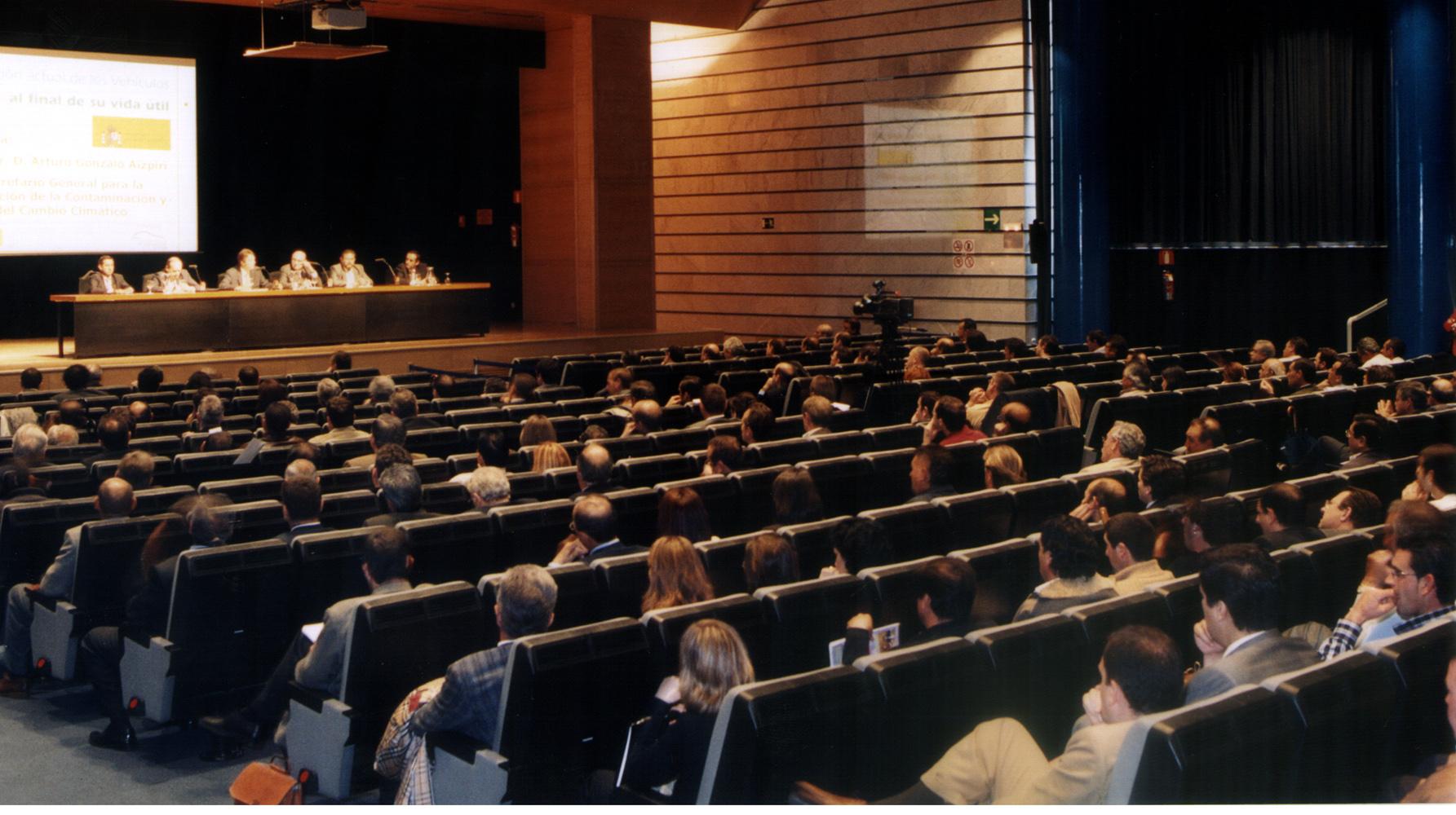Público en el I Encuentro Nacional SIGRAUTO