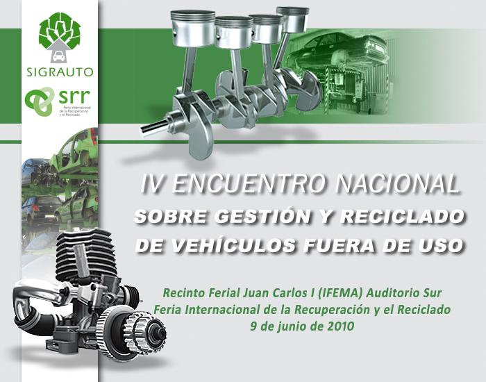IV Encuentro sobre reciclado y baja de vehículos