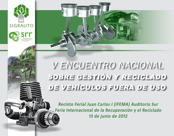 V Encuentro sobre reciclado y baja de vehículos
